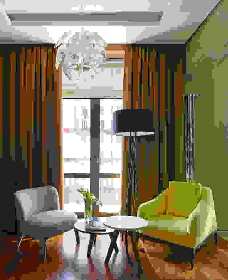 DEEP HOUSE Гостиная в стиле модерн от Max Kasymov Interior/Design Модерн