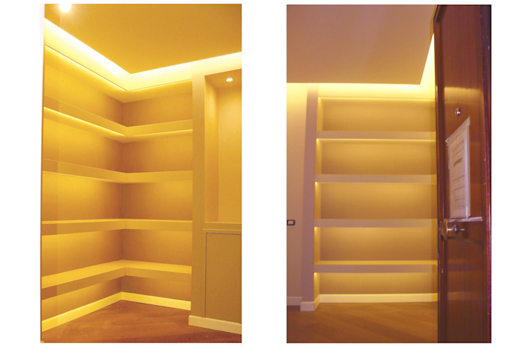 Modern Corridor, Hallway and Staircase by NicArch Modern