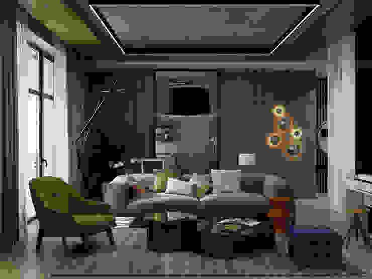 Salas de estilo moderno de Max Kasymov Interior/Design Moderno