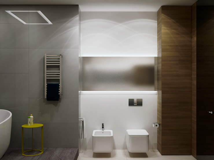 A Posteriori Ванная комната в стиле модерн от Max Kasymov Interior/Design Модерн