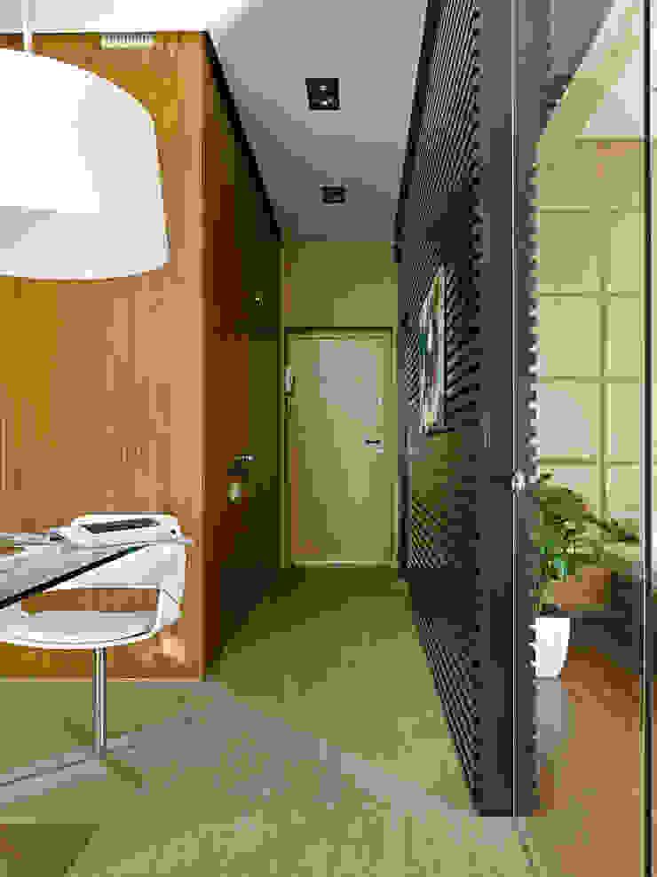 DEEP HOUSE Коридор, прихожая и лестница в модерн стиле от Max Kasymov Interior/Design Модерн