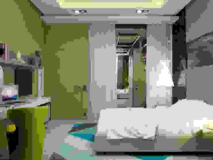 A Posteriori Спальня в стиле модерн от Max Kasymov Interior/Design Модерн