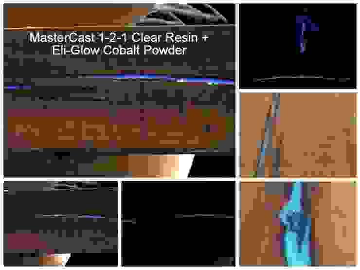 Transforming wood into a photo-luminescent work of art... Eli-Chem Resins U.K Ltd