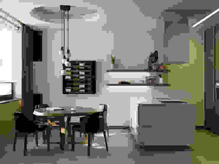 A Posteriori Кухня в стиле модерн от Max Kasymov Interior/Design Модерн