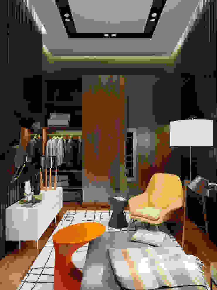 Wine Room, Гостиная в стиле модерн от Max Kasymov Interior/Design Модерн