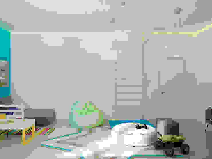 A Posteriori Детская комната в стиле модерн от Max Kasymov Interior/Design Модерн