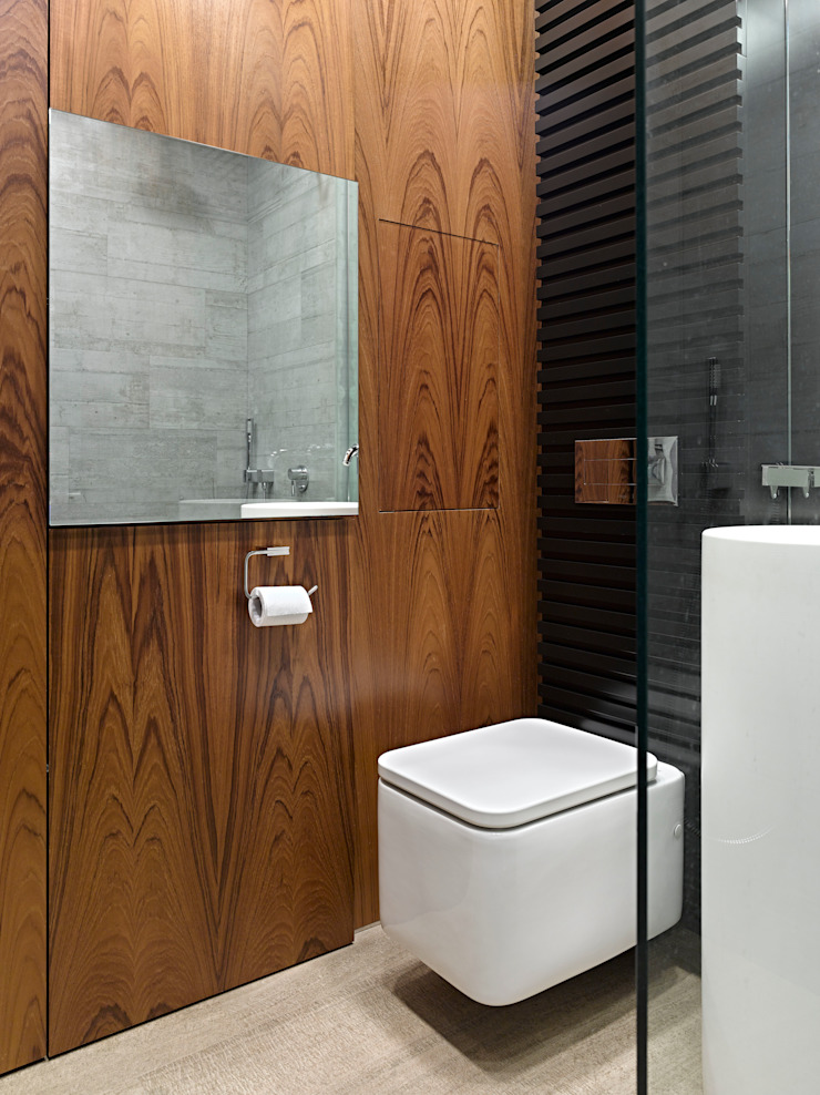 DEEP HOUSE Ванная комната в стиле модерн от Max Kasymov Interior/Design Модерн