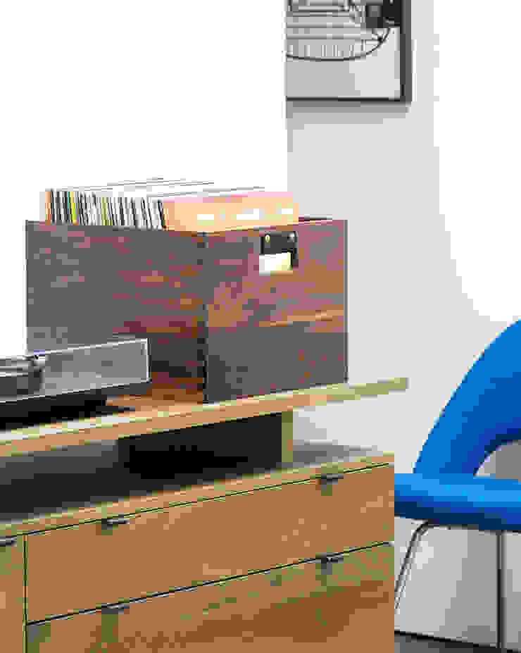 Dovetail Record Crate Symbol Audio Multimedia roomFurniture