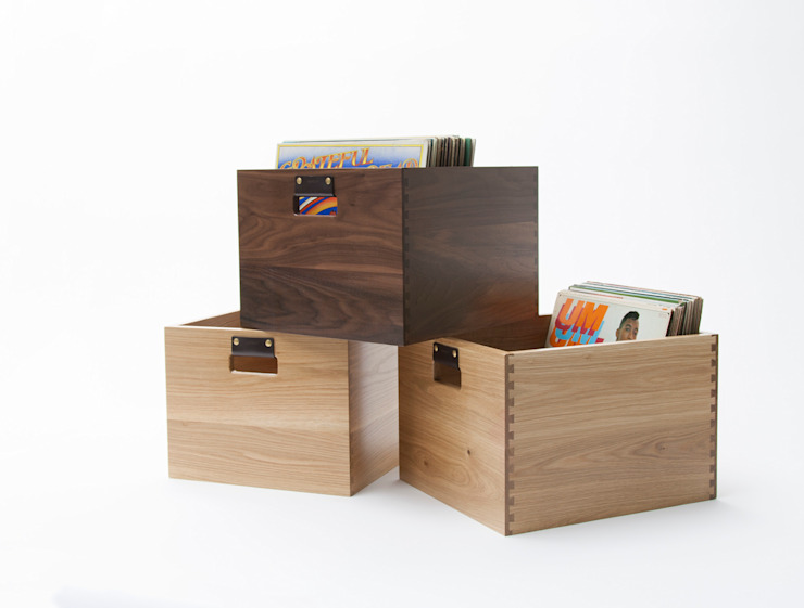 Dovetail Record Crate Symbol Audio Multimedia roomStorage