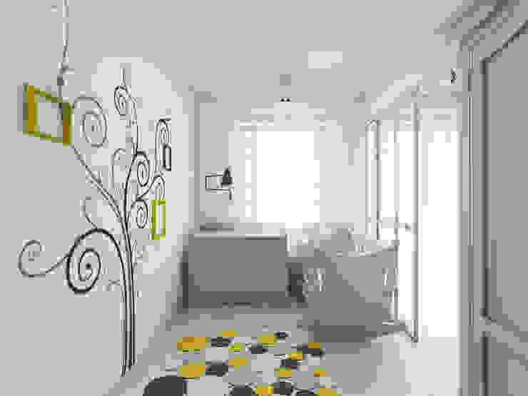 BAGUA Pracownia Architektury Wnętrz Nursery/kid's room