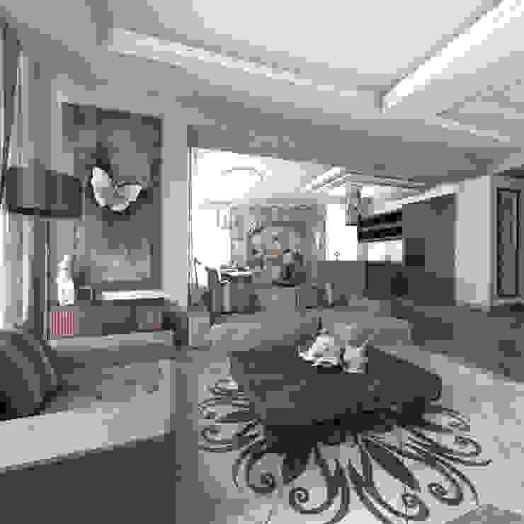 Квартира в Санкт-Петербурге Гостиная в классическом стиле от Ekaterina Bahir Классический
