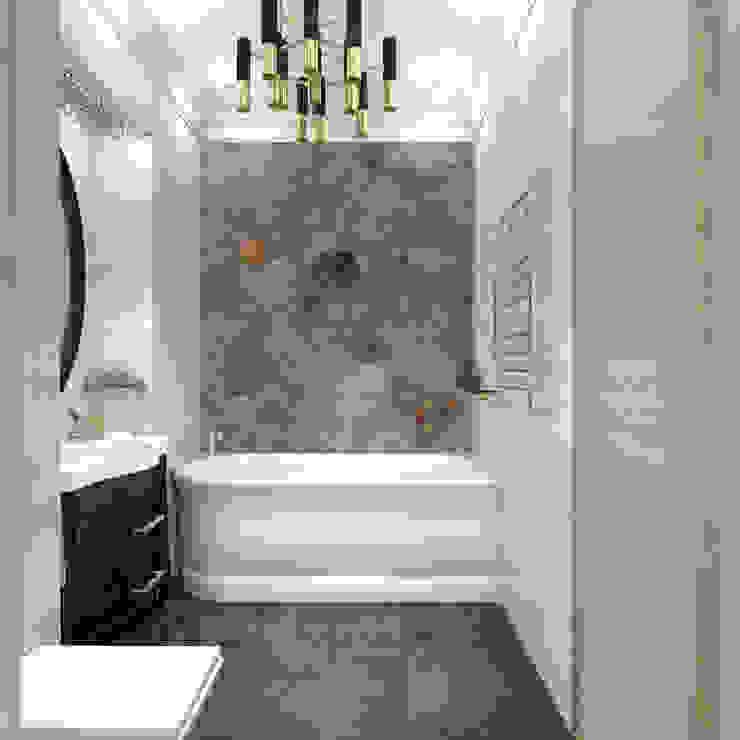 Квартира в Санкт-Петербурге Ванная комната в стиле модерн от Ekaterina Bahir Модерн