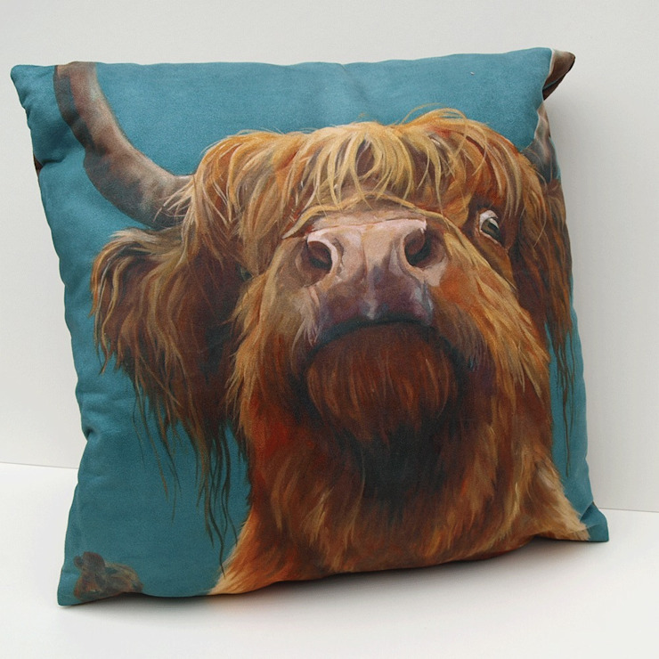 'the Highland way' cushion: modern  by Thuline, Studio-Gallery, Modern