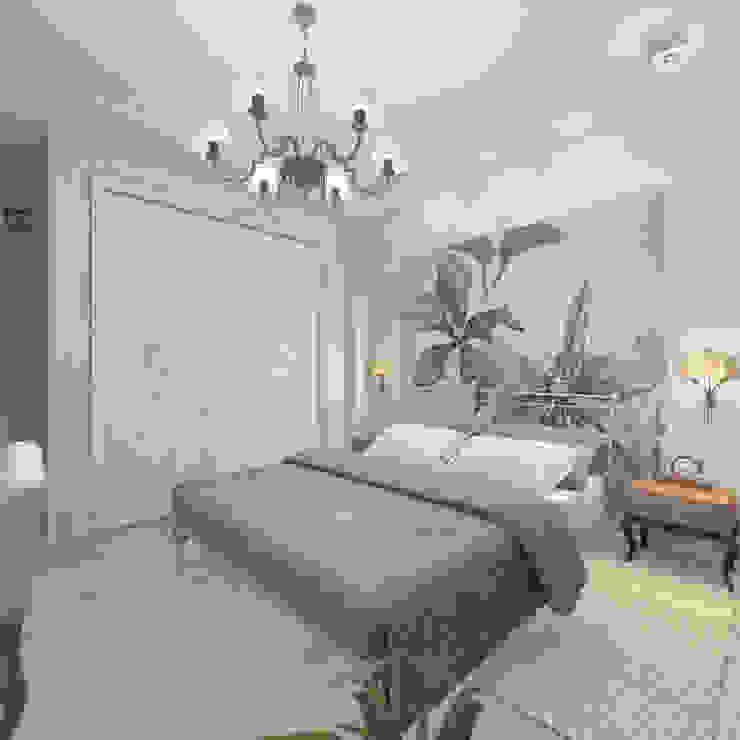 Квартира в Санкт-Петербурге Спальня в стиле кантри от Ekaterina Bahir Кантри