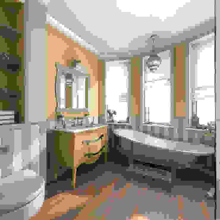 Квартира в Санкт-Петербурге Ванная комната в стиле кантри от Ekaterina Bahir Кантри