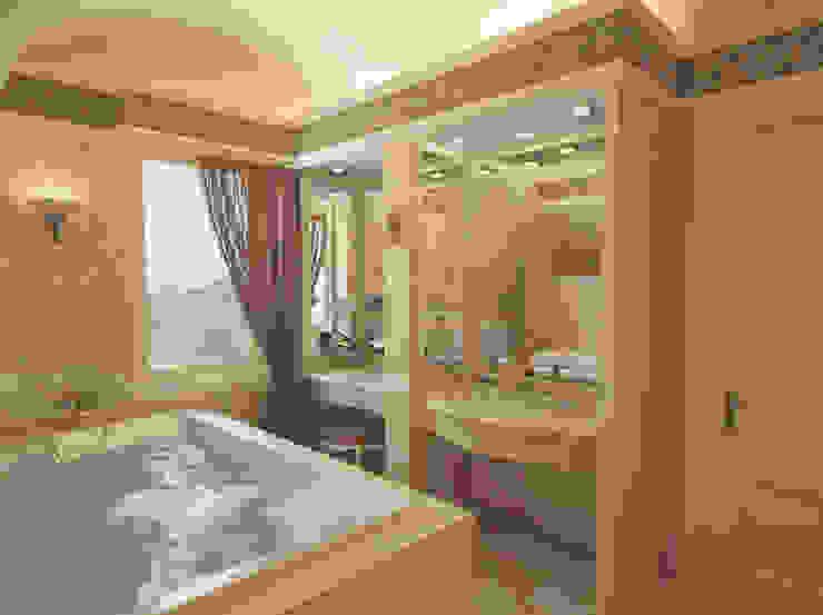 Студия Ксении Седойが手掛けた浴室