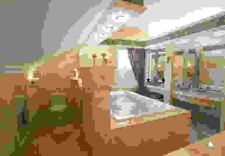Дом- как мир. Ванная в средиземноморском стиле от Студия Ксении Седой Средиземноморский
