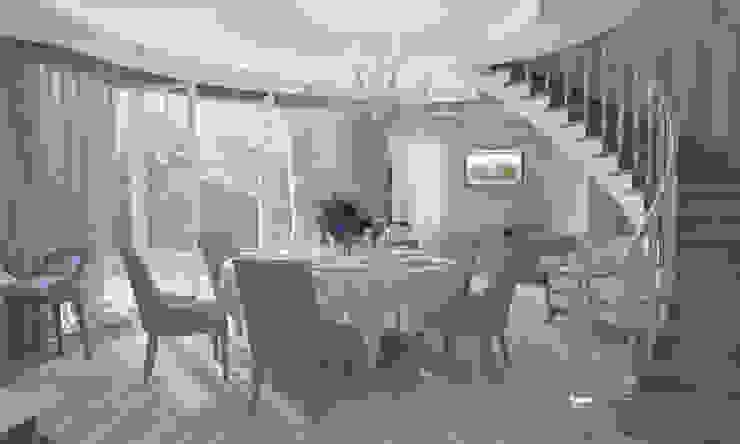Дом- как мир. Столовая комната в классическом стиле от Студия Ксении Седой Классический