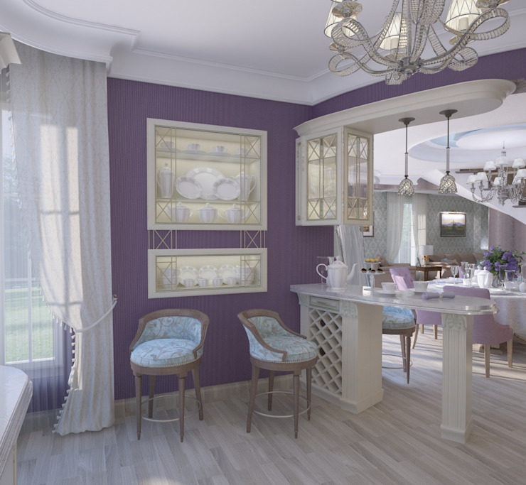 Дом- как мир. Кухня в классическом стиле от Студия Ксении Седой Классический