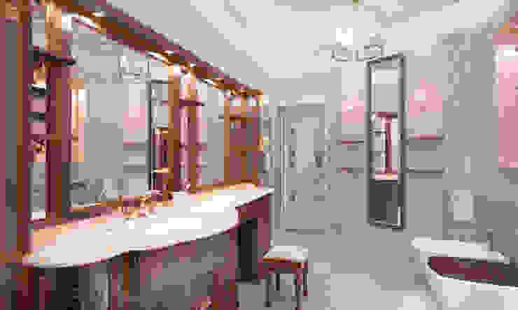 Дом- как мир. Ванная в классическом стиле от Студия Ксении Седой Классический