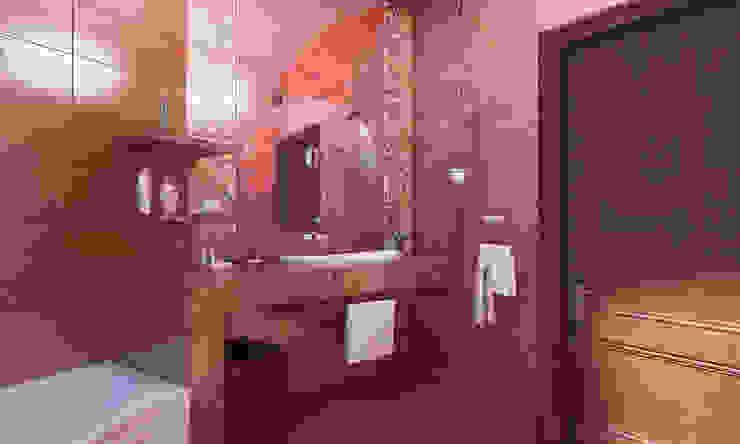 Дом- как мир. Ванная в азиатском стиле от Студия Ксении Седой Азиатский