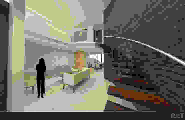 Proyecto Chaga Salones modernos de GRH Interiores Moderno