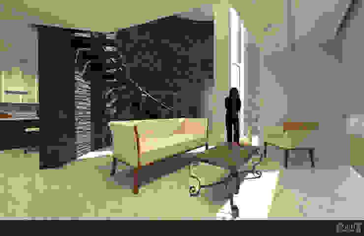 Proyecto Chaga Salones eclécticos de GRH Interiores Ecléctico