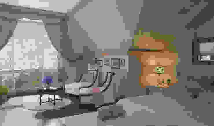 Дом- как мир. Спальня в классическом стиле от Студия Ксении Седой Классический
