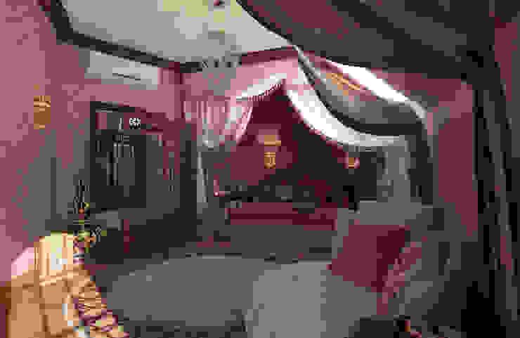 Дом- как мир. Спальня в азиатском стиле от Студия Ксении Седой Азиатский