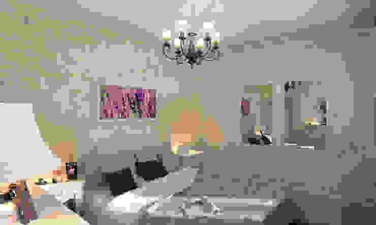 Дом- как мир. Спальня в стиле кантри от Студия Ксении Седой Кантри