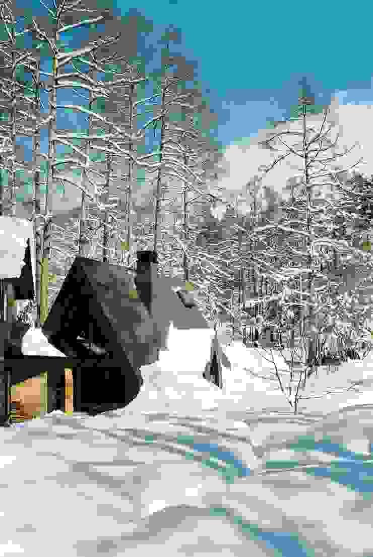 あなたとわたしの家 北欧風 家 の スズケン一級建築士事務所/Suzuken Architectural Design Office 北欧