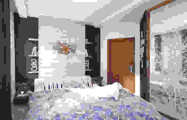 Уютный лофт в Москве Спальня в стиле лофт от Студия Ксении Седой Лофт