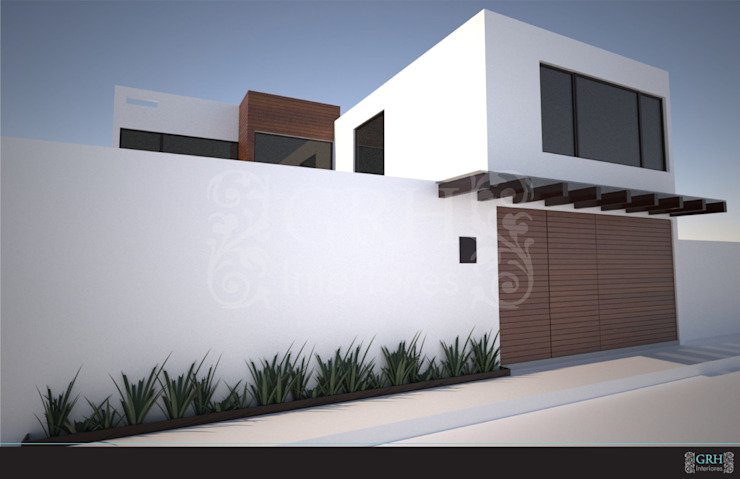Proyecto Zárate Casas modernas de GRH Interiores Moderno