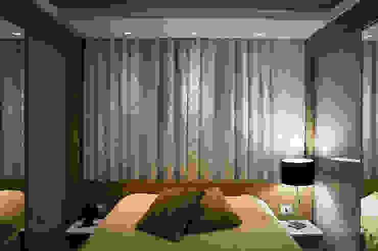 Apartamento Passo D´Areia Quartos modernos por Bibiana Menegaz - Arquitetura de Atmosfera Moderno