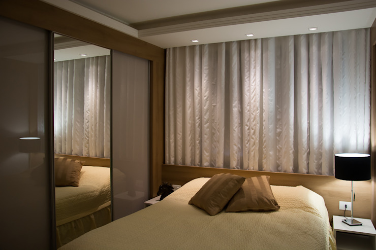 Apartamento Passo D´Areia Closets por Bibiana Menegaz - Arquitetura de Atmosfera Moderno