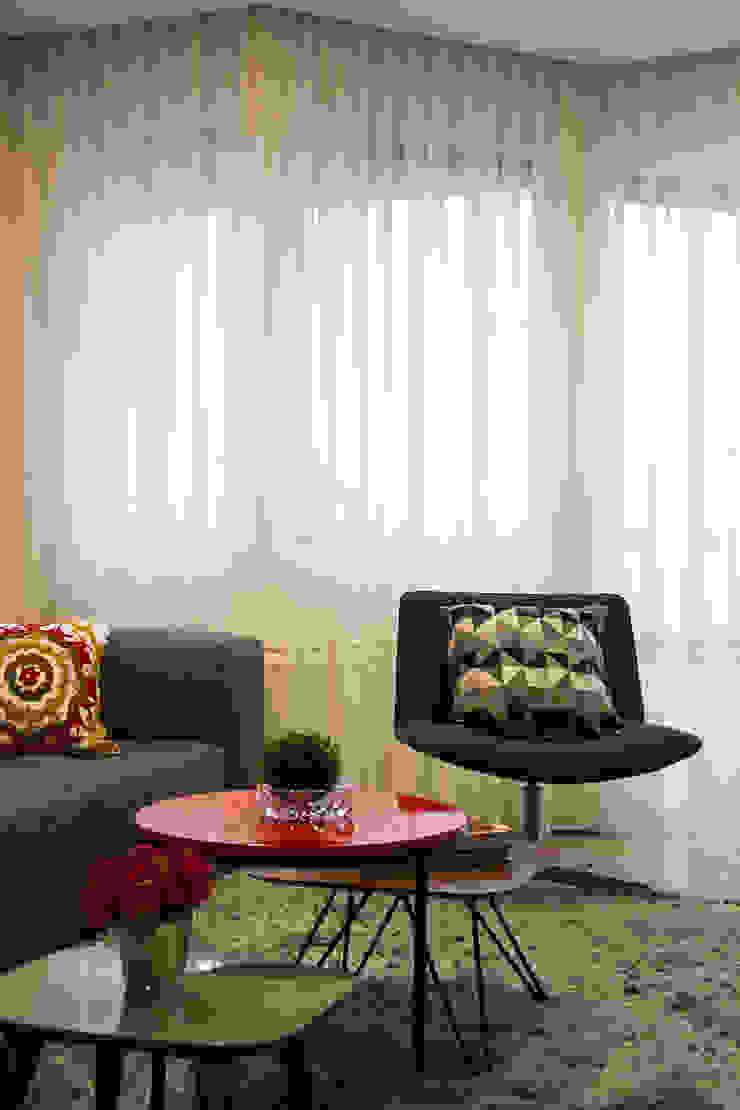 Apartamento Passo D´Areia Salas de estar modernas por Bibiana Menegaz - Arquitetura de Atmosfera Moderno