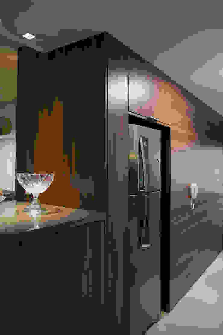 Apartamento Passo D´Areia Cozinhas modernas por Bibiana Menegaz - Arquitetura de Atmosfera Moderno