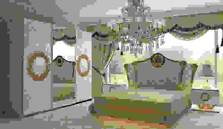 AVANGARDE BEDROOM Inan AYDOGAN /IA Interior Design Office Klasik