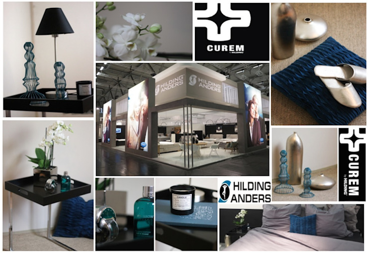 ​Interior Styling Messestand IMM Cologne 2015 Modernes Messe Design von Rasa en Détail Modern