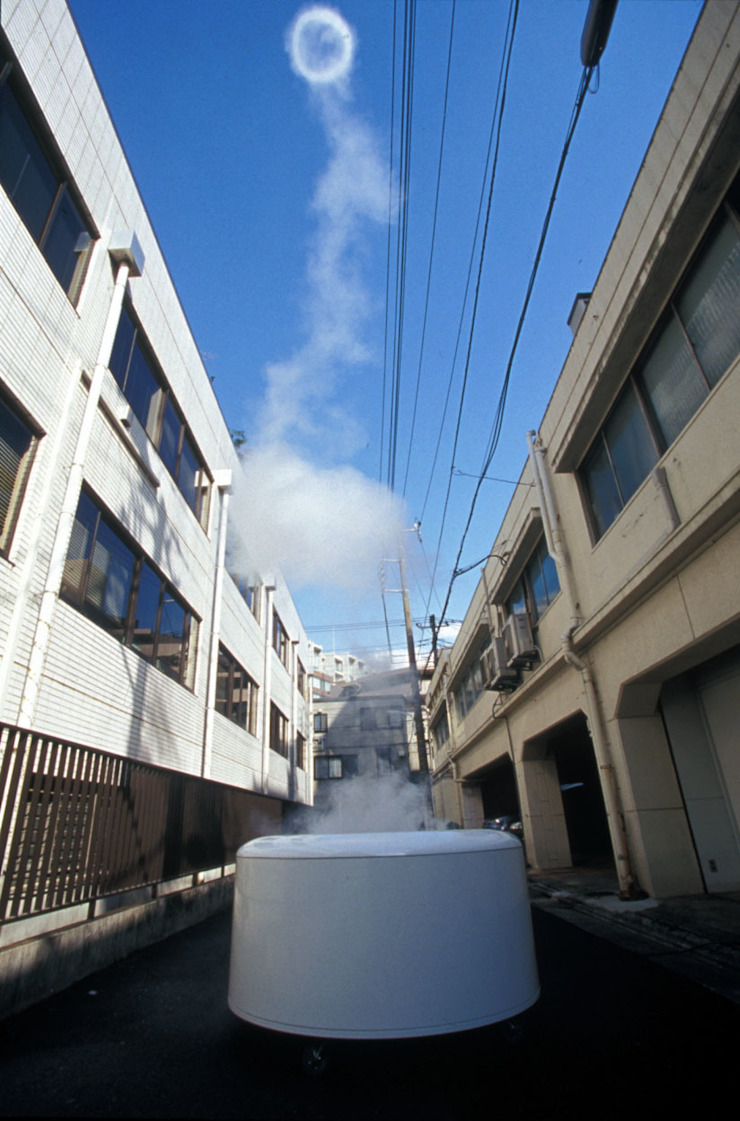 Smoke Ring ミニマルな 庭 の Takeshi Ishiguro Creative Lab ミニマル