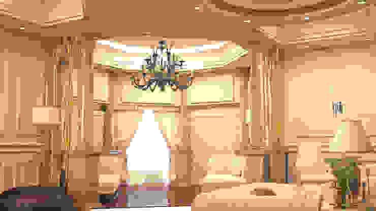 cam_01 Rustik Yatak Odası MHD Design Group Rustik