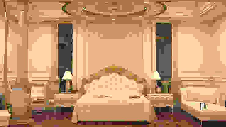 cam_02 Rustik Yatak Odası MHD Design Group Rustik