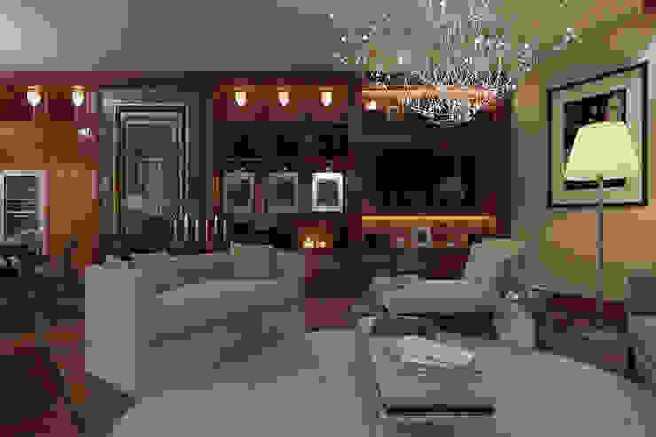 Проект интерьера частной квартиры , ЖК Парадный квартал, 133 кв.м. от Дизайн элитного жилья | Студия Дизайн-Холл