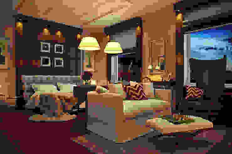 ЖК Парадный квартал , частная квартира  133 кв.м.:  в . Автор – Дизайн элитного жилья | Студия Дизайн-Холл,