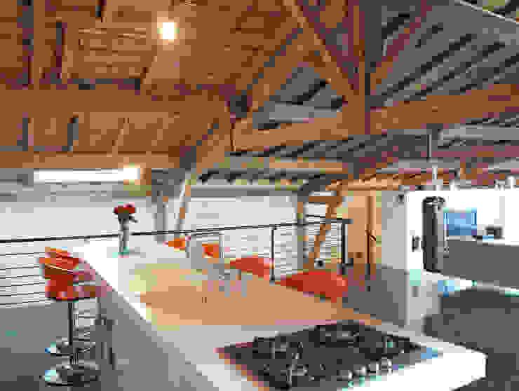Bordeaux > 4 logements de ville Cuisine moderne par atelier d'architecture King Kong Moderne