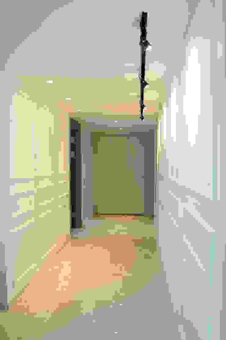 NEW EASYSTONE Delicato cream 600*600 Modern Corridor, Hallway and Staircase by (주)이지테크(EASYTECH Inc.) Modern