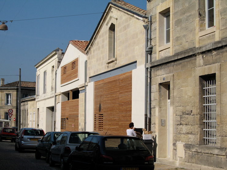 Huizen door atelier d'architecture King Kong,