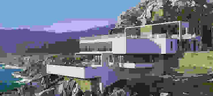 Casas de estilo minimalista de Студия авторского дизайна БОН ТОН Minimalista
