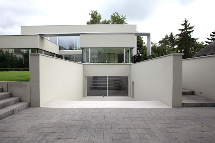 Casas de estilo  por Neugebauer Architekten BDA