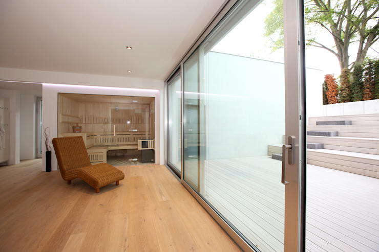 Spa de estilo  por Neugebauer Architekten BDA